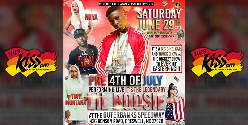 Nu Planet Entertainment Presents: Pre 4th of July Event w/ Lil Boosie