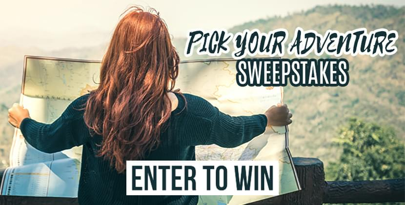 Pick Your Adventure Sweepstakes
