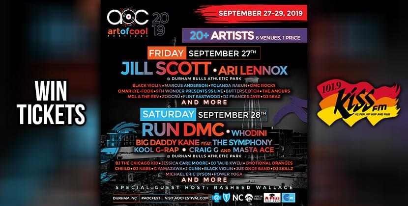 Win Tickets To The Art of Cool Festival