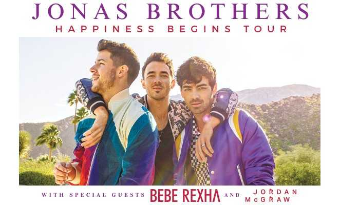Jonas Brothers in Raleigh!
