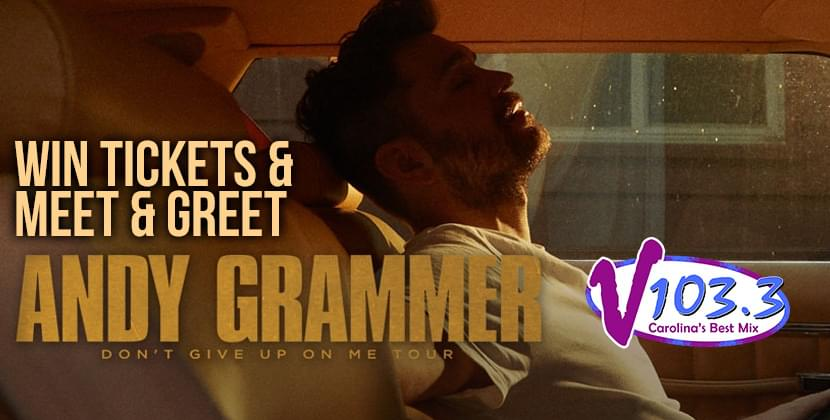 See Andy Grammer at The Carolina Theatre!
