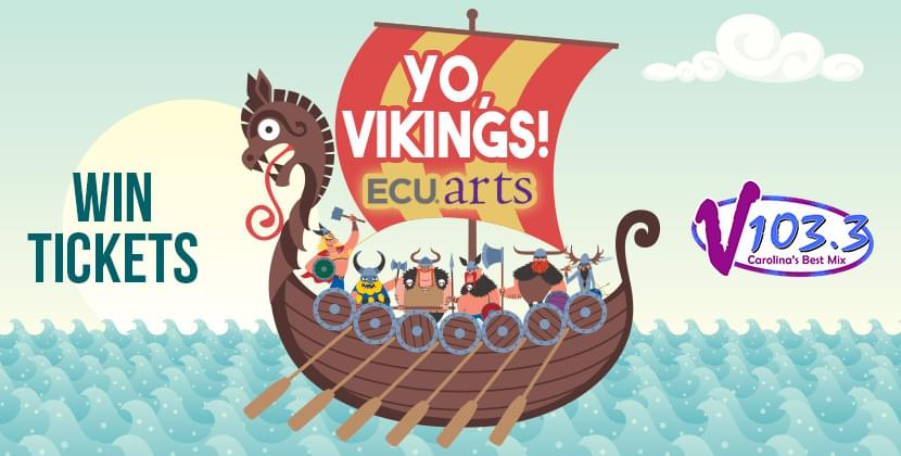 """Win A Family 4 Pack Of Tickets To """"Yo, Vikings!"""" At ECU!"""
