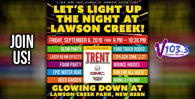Glow Down Laser Dance Party & Food Truck Rodeo