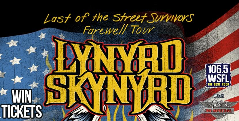 "See Lynyrd Skynyrd ""Last of the Street Survivors Farewell Tour"" in Raleigh!"