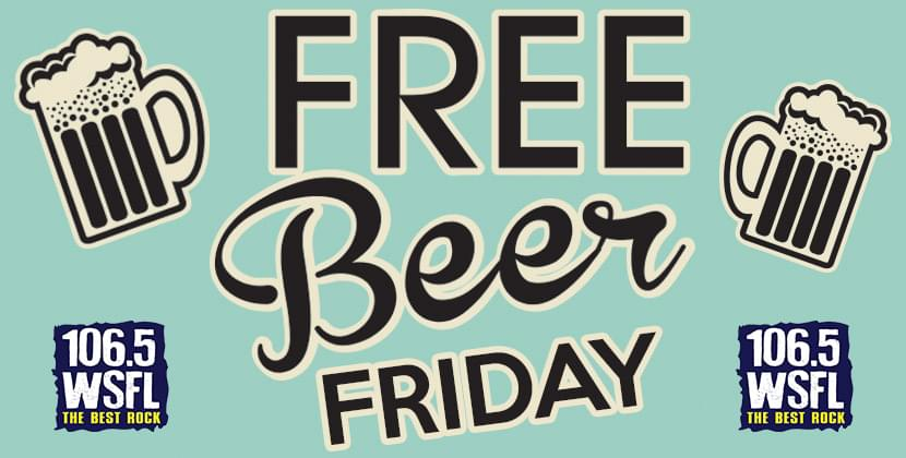 Free Beer Friday is Back!