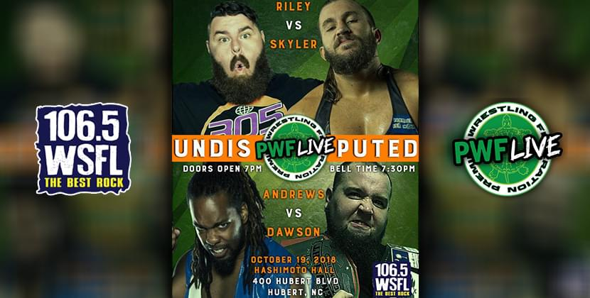 PWF and 106.5 WSFL Present Undisputed