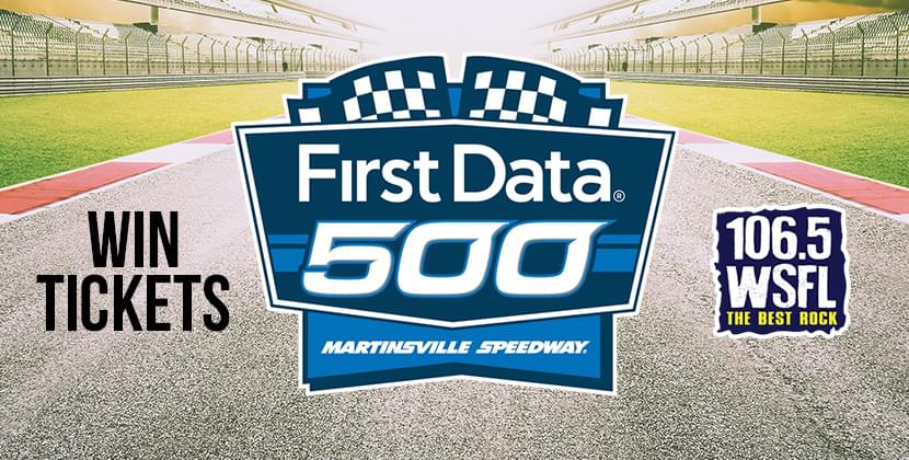 Win Tickets To The First Data 500 In Martinsville