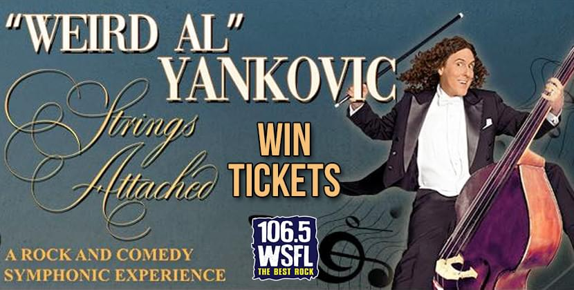 Win Tickets for Weird Al!