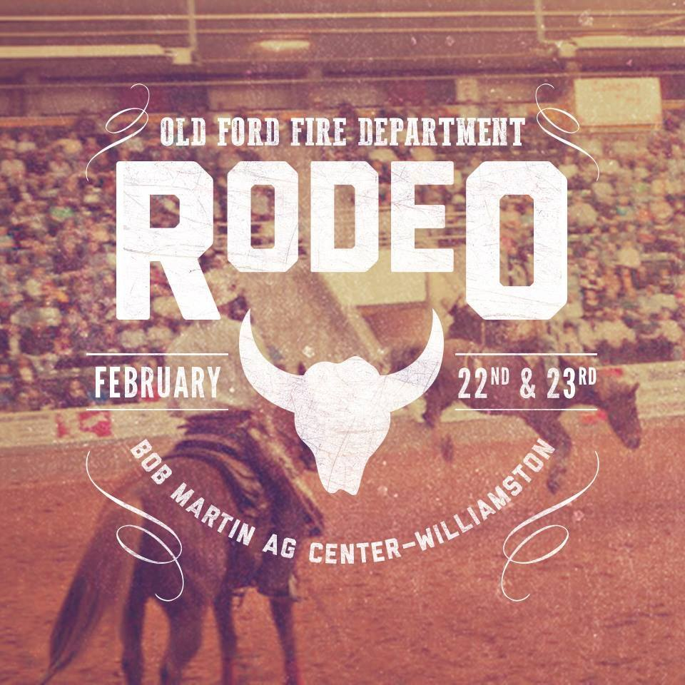 We've Got Your Tickets for the Old Ford VFD Rodeo