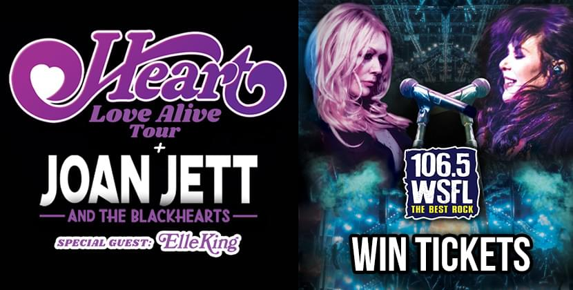 Win Tickets for Heart!