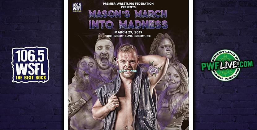 PWF Live in Hubert – March 29