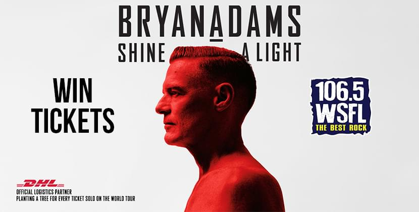 We've Got Your Tickets for Bryan Adams!