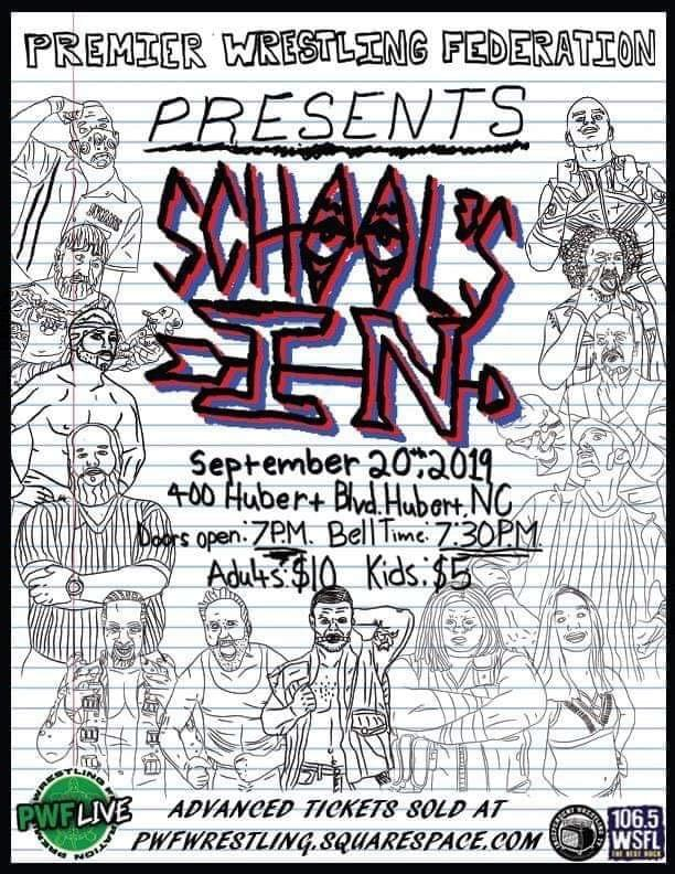WSFL and The Premier Wrestling Federation Present 'School's In'