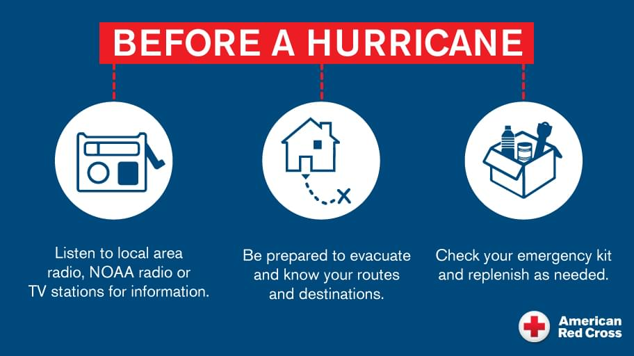 Red Cross Prepares for Hurricane Dorian, Urges Residents to