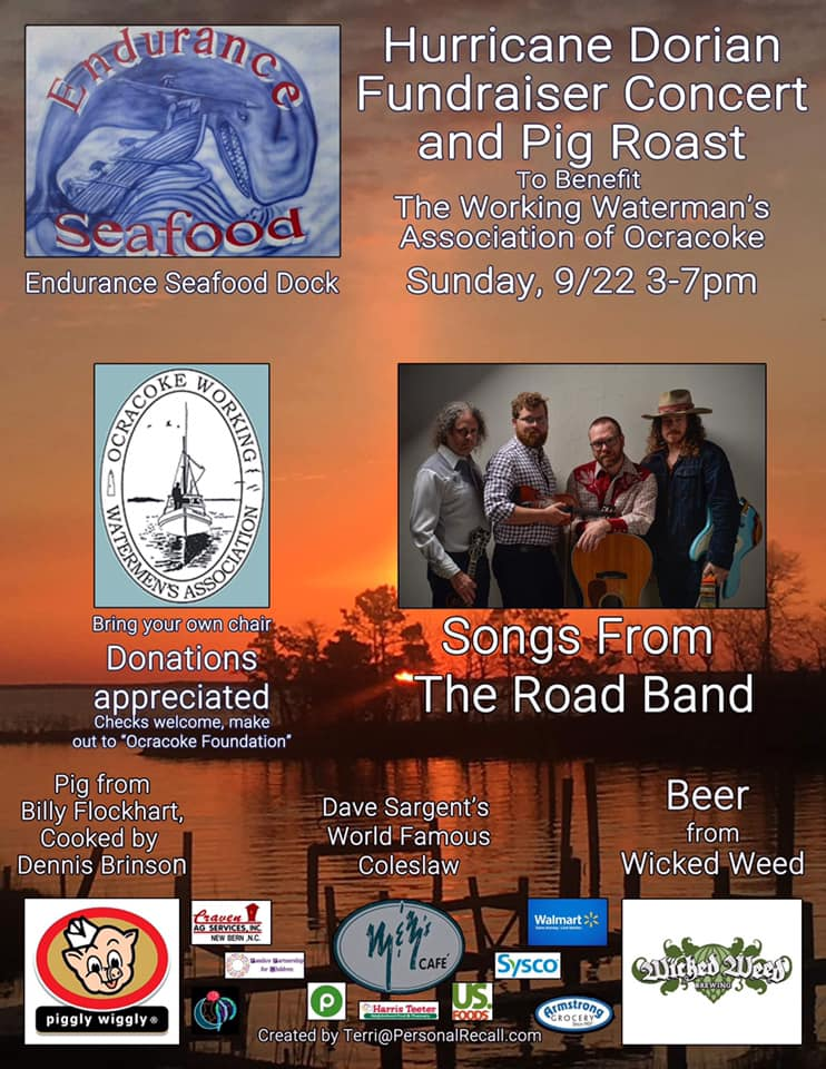 Endurance Seafood Fundraiser For The Working Waterman's Association of Ocracoke