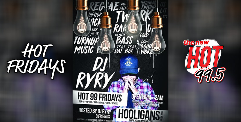 Hot Fridays At Hooligans