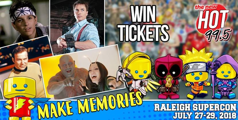 Win Tickets To Raleigh Supercon!