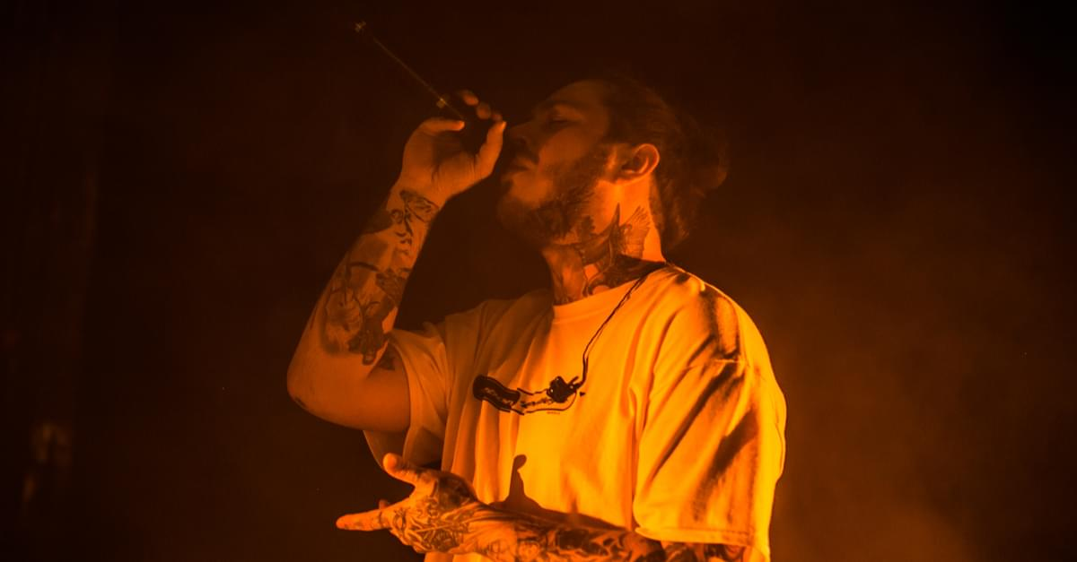 Post Malone Parties with his Hometown!