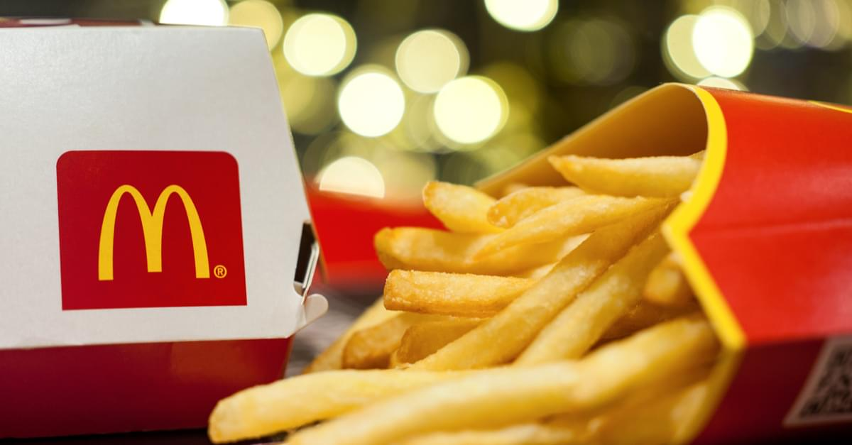 Free McDonald's for 2018!
