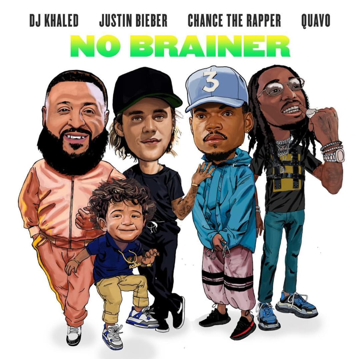 DJ Khaled, Justin Bieber, Chance the Rapper & Quavo Reunite 'No Brainer' (WATCH)