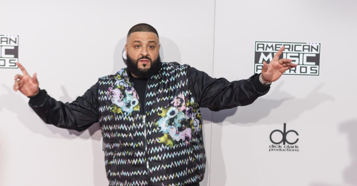 DJ Khaled gives Goat Yoga a Shot