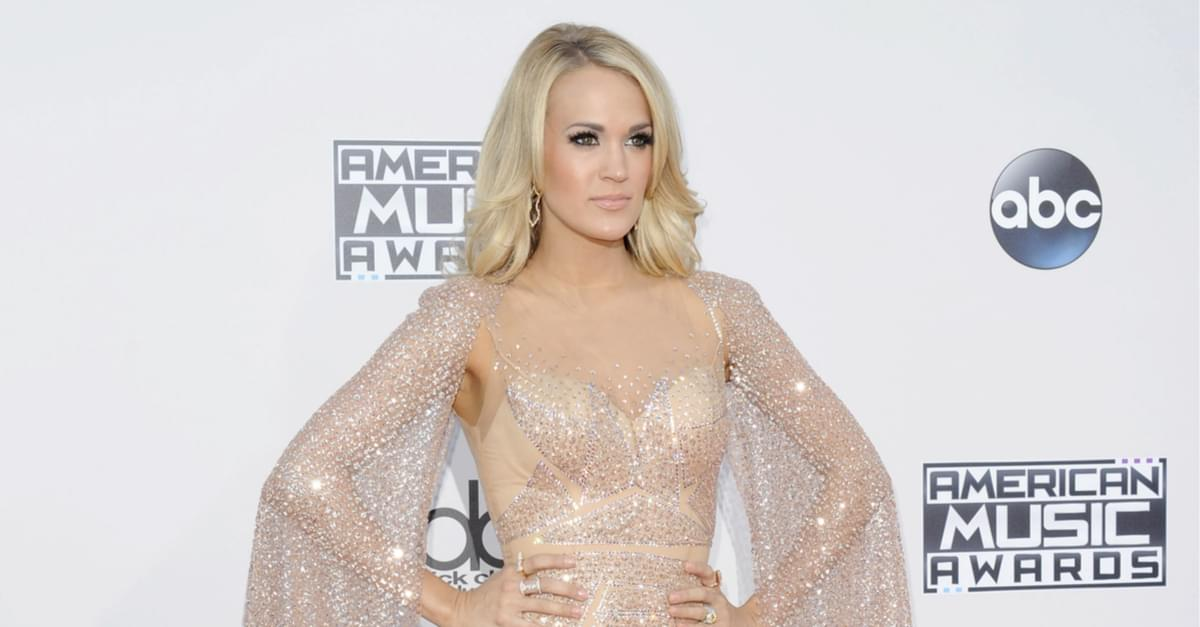 Carrie Underwood Claims Fall was not Staged