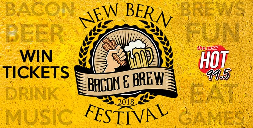 Win Tickets To New Bern Bacon & Brew Fest