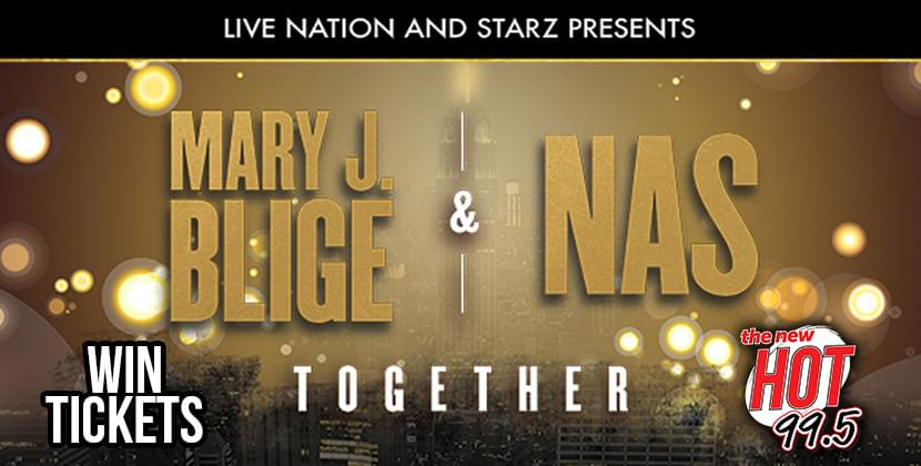 Win Tickets To Mary J. Blige & NAS!