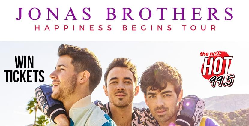 Win Your Tickets To The Jonas Brothers!