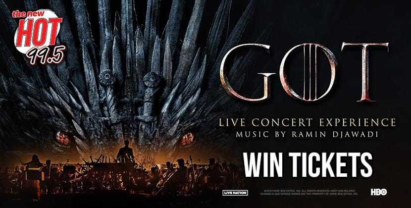 Win Tickets To Game Of Thrones: Live Concert Experience!