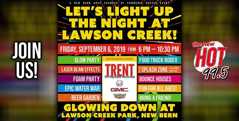Glow Down Laser Dance Party & Food Truck Rodeo!
