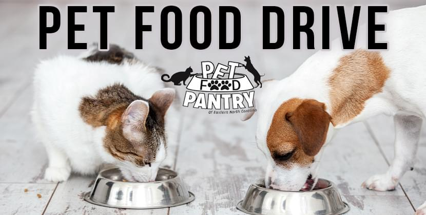 September Pet Food Drive