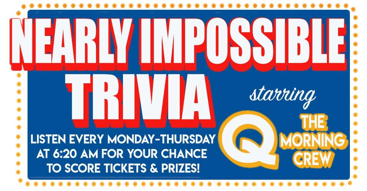 Nearly Impossible Trivia: January 8, 2019