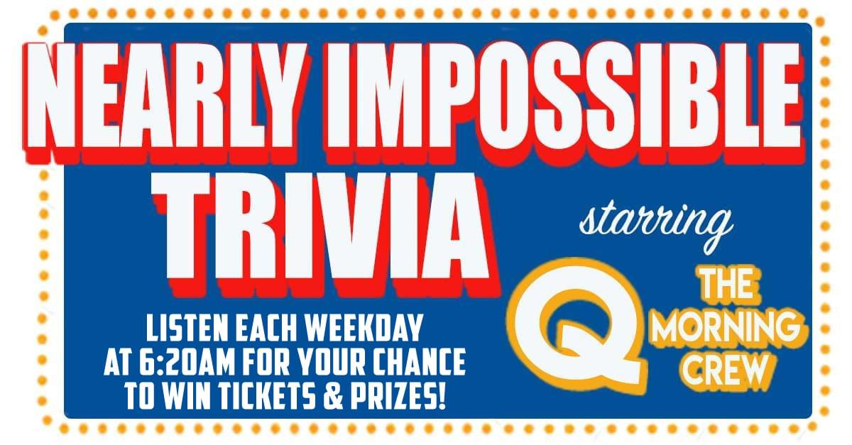Nearly Impossible Trivia: April 11, 2019
