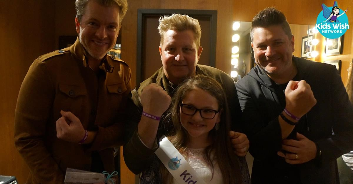 Mazie Will 'Forever' Remember 'These Days' with Rascal Flatts Wish from Kids Wish Network