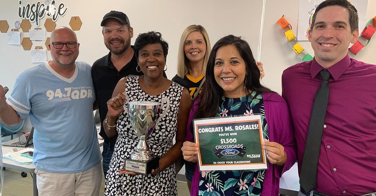 Gold Star Teacher of the Month: August 2019 – Rebecca Rosales