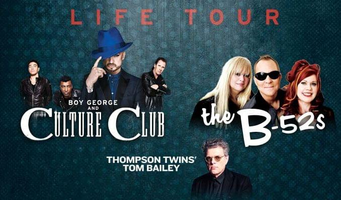 Boy George & Culture Club featuring The B-52's and the Thompson Twins' Tom Bailey