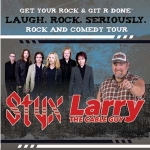 STYX AND LARRY THE CABLE GUY