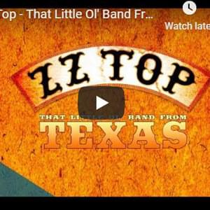 ZZ TOP: Three Guys and a Doc