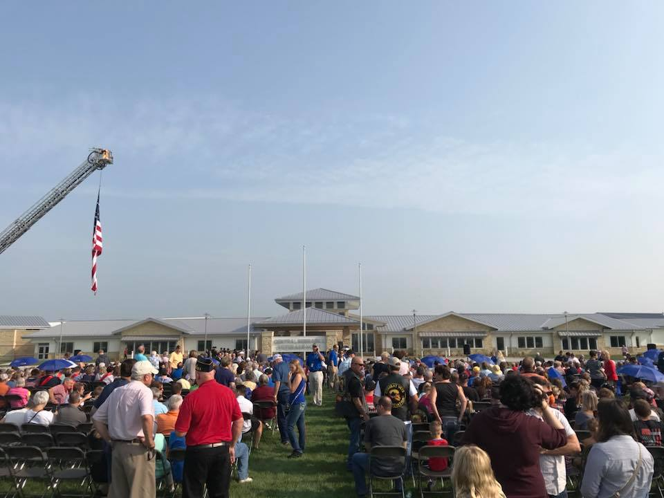 Central Nebrask Veterans Home Ribbon Cutting