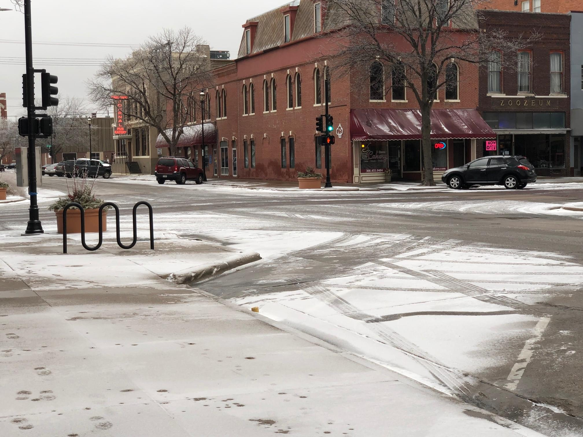 Kearney Police advising safe driving for icy road conditions