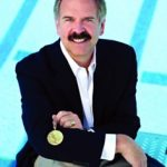 Olympic gold medalist John Naber speaking March 5 at UNK