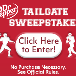 Dr. Pepper College Football Tailgate Promotion
