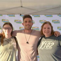 Lisa and Kelsey with Michael Ray