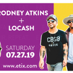 Did you see LoCash and Rodney Atkins are coming to the Tri Cities?
