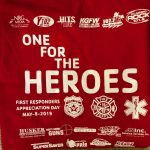 One For The Heroes First Responders is Wednesday!