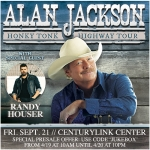 Alan Jackson with special guest Randy Houser