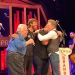 An Emotional Night for Luke Combs at the Grand Ole Opry.