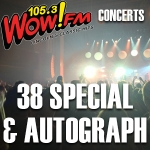 38 Special with Autograph