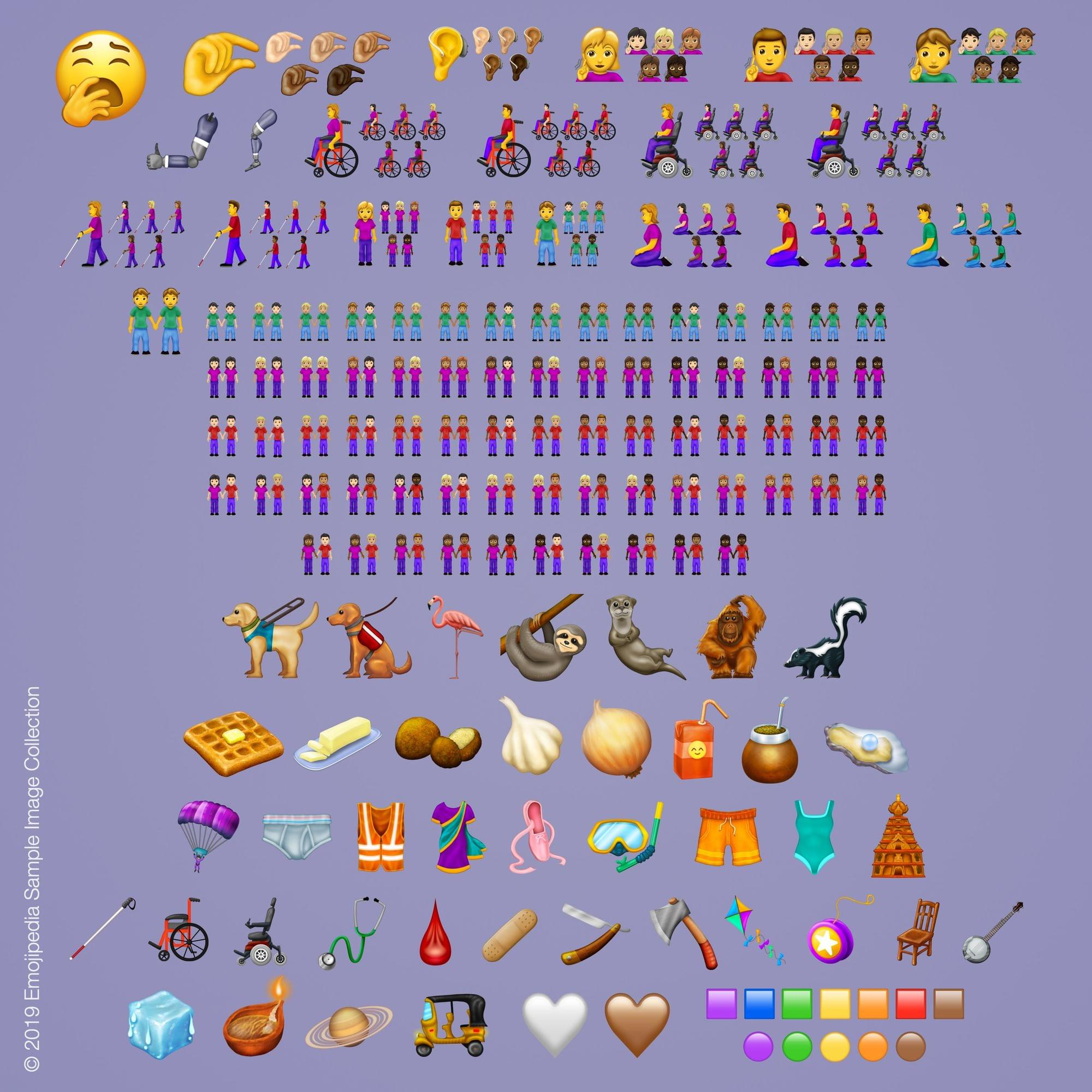 The New Emojis Are Here! The New Emojis Are Here!